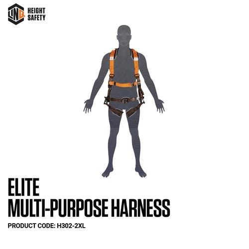 LINQ Elite Multi-Purpose Harness - Maxi (XL-2XL) cw Harness Bag (NBHAR)