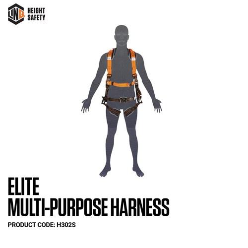 LINQ Elite Multi-Purpose Harness - Small (S) cw Harness Bag (NBHAR)