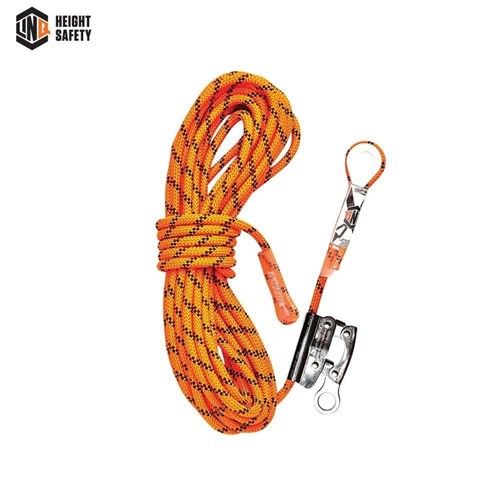LINQ Kernmantle Rope with Thimble Eye & Rope Grab 15M