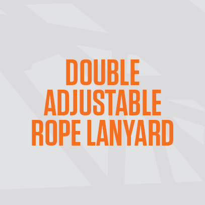 Double Adjustable Rope Lanyard