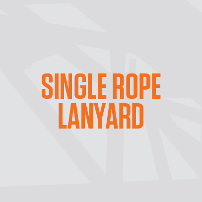 Single Rope Lanyard
