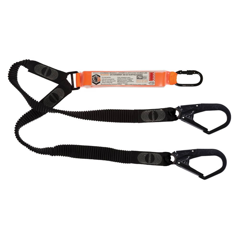 Double Elasticated Lanyard